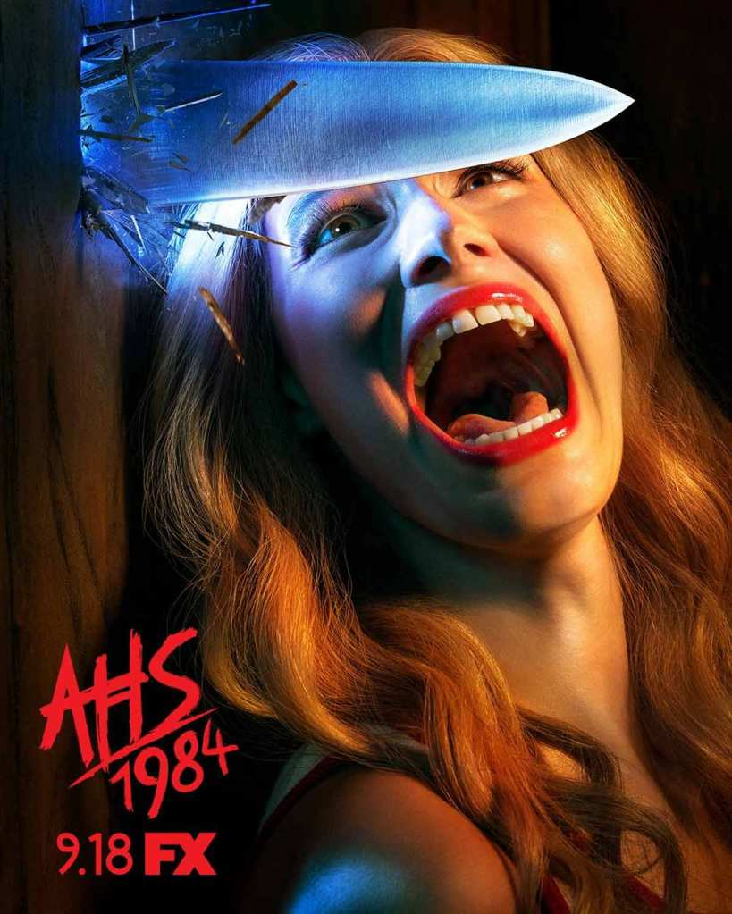 american horror story 1984 affiche fx